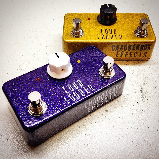 New Pedal! ChadderBox Effects Loud Louder