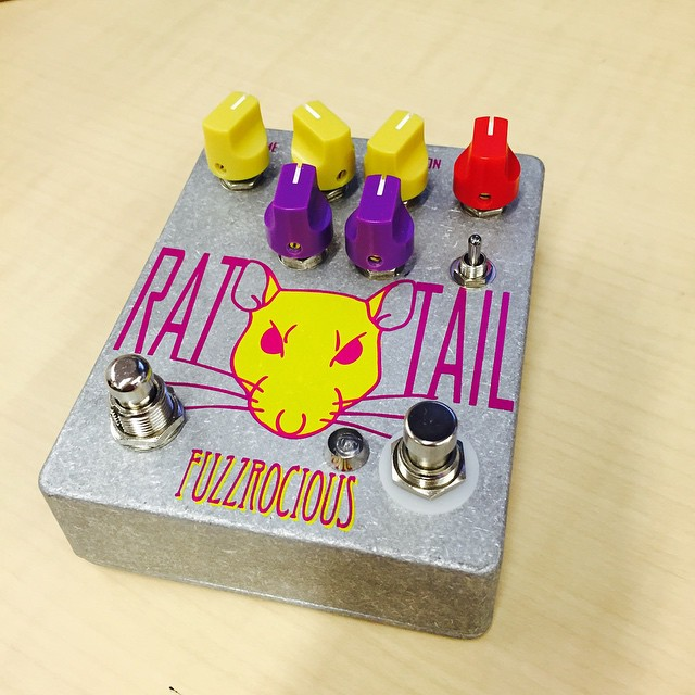 New Pedal! Fuzzrocious Rat Tail
